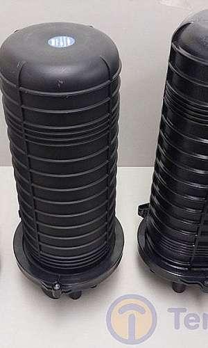 Caixa de emenda de fibra óptica