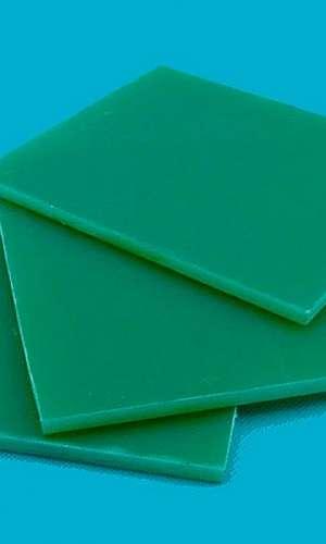 Placa de fibra de vidro